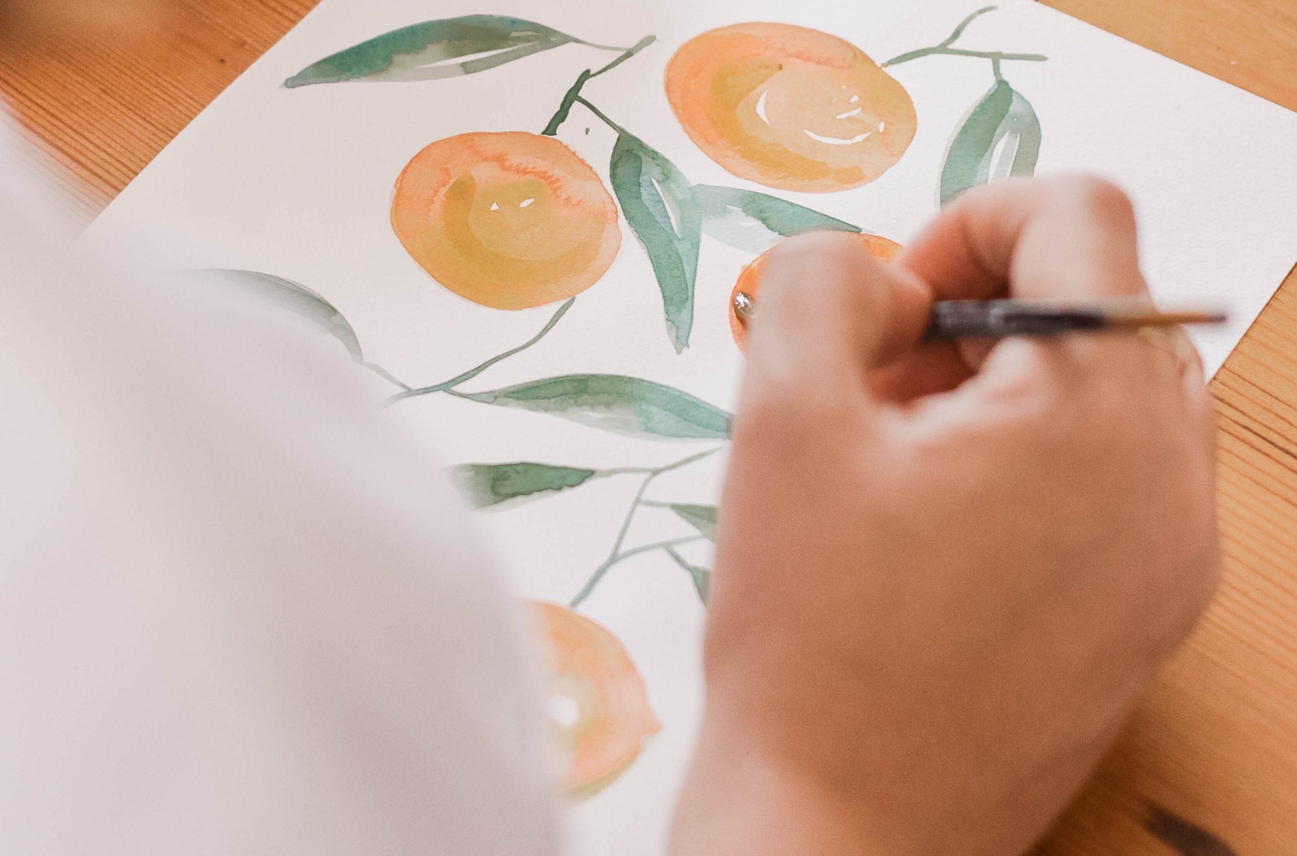 akvarell - artgarden