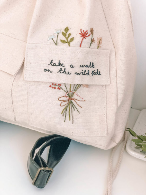 Adventure hímzett hátizsák